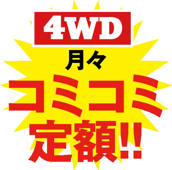 月々定額1万円〜